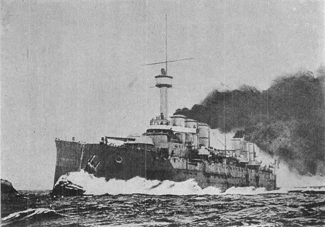 French Cruiser Renan