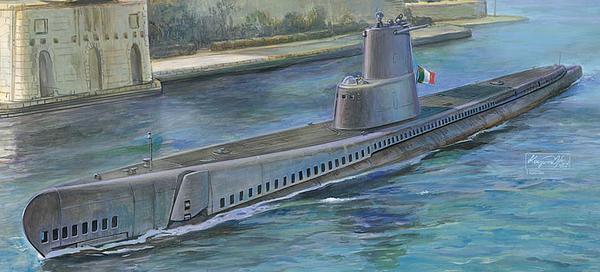 GUPPY type submarines provided by the USN, Leonardo Da Vinci