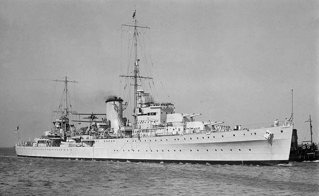 HMNZS Achilles 1940