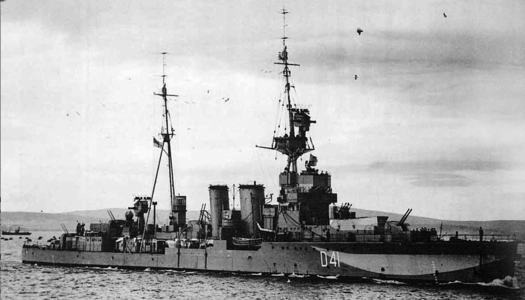 British C class cruisers (1914-1922)