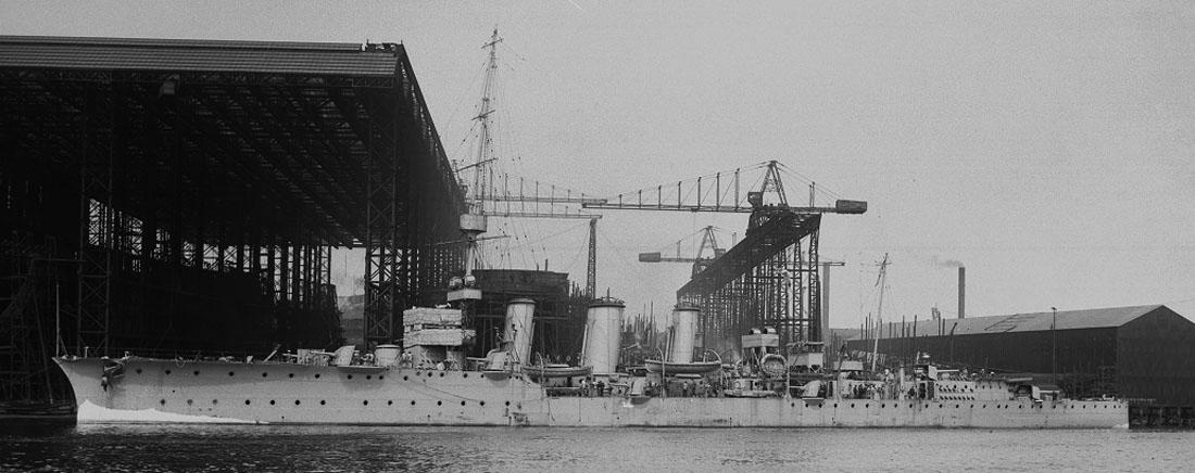 hms comus Wallsend Shipyard