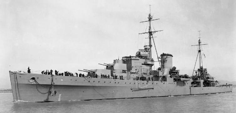 HMS Orion circa 1943