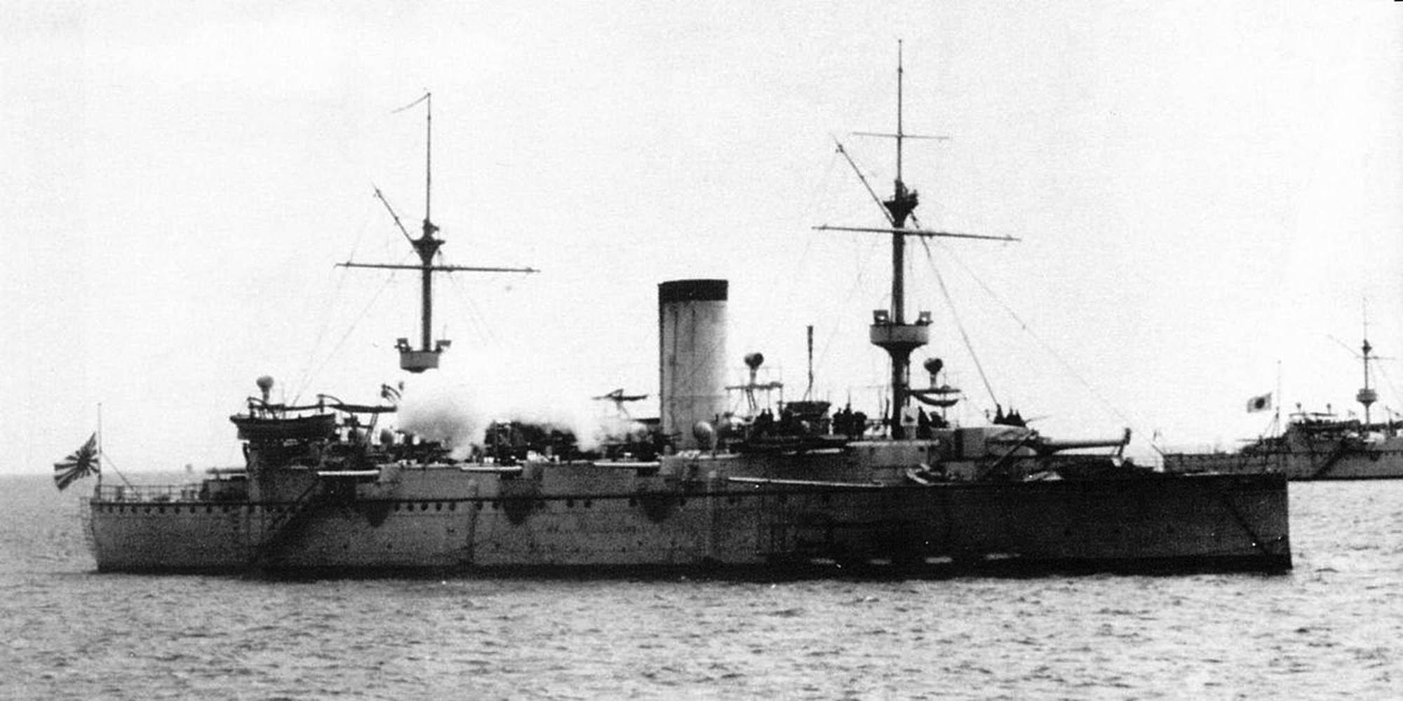 Naniwa class protected cruisers (1885)