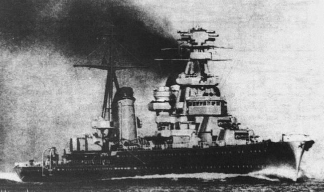 Kirov class cruisers (1936)