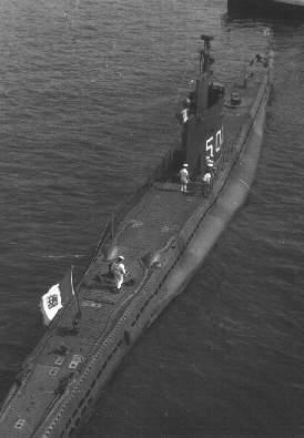 Vortice, 1953 - credits sommergibli.com