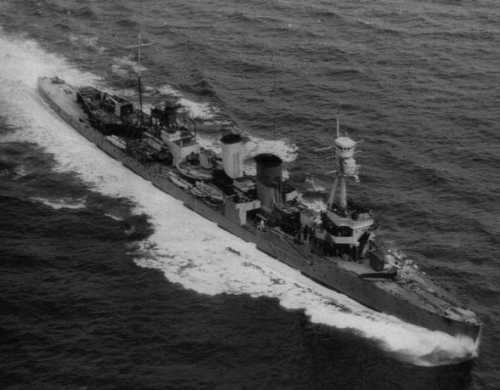 hms caradoc 1942
