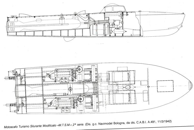 Original blueprints rendition of the MTSM