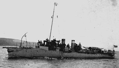 The Normand-Built Torpedo-Boat Hrabi