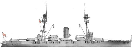 Espana class battleships