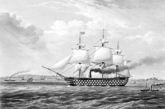 duke of wellington at sea