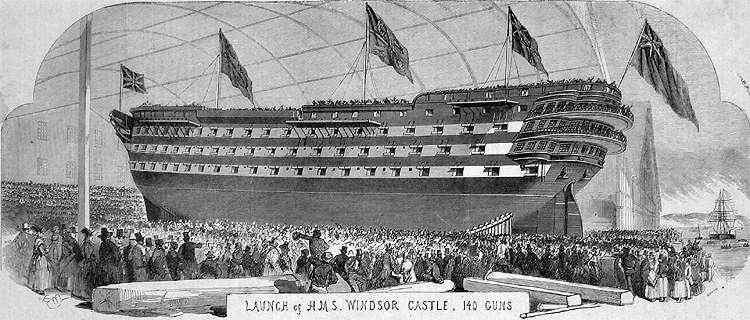 launch Windsor castle