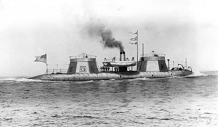 USS Keokuk at sea