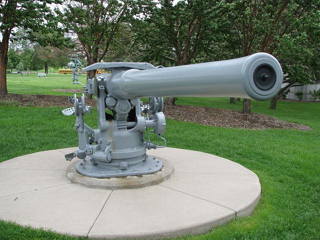 4-in gun Minesotta capital