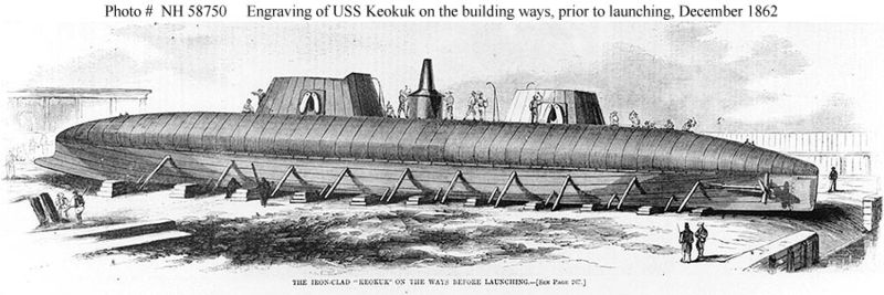 Keokuk in construction