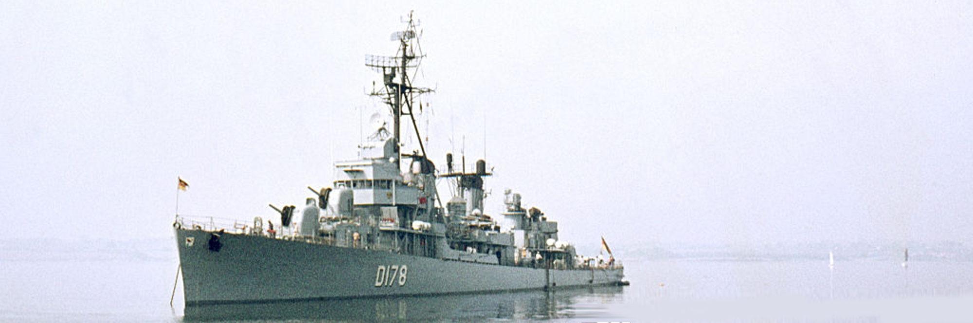 Zerstörer class destroyers (1958-72)