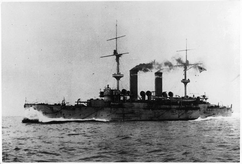 Asama in 1904