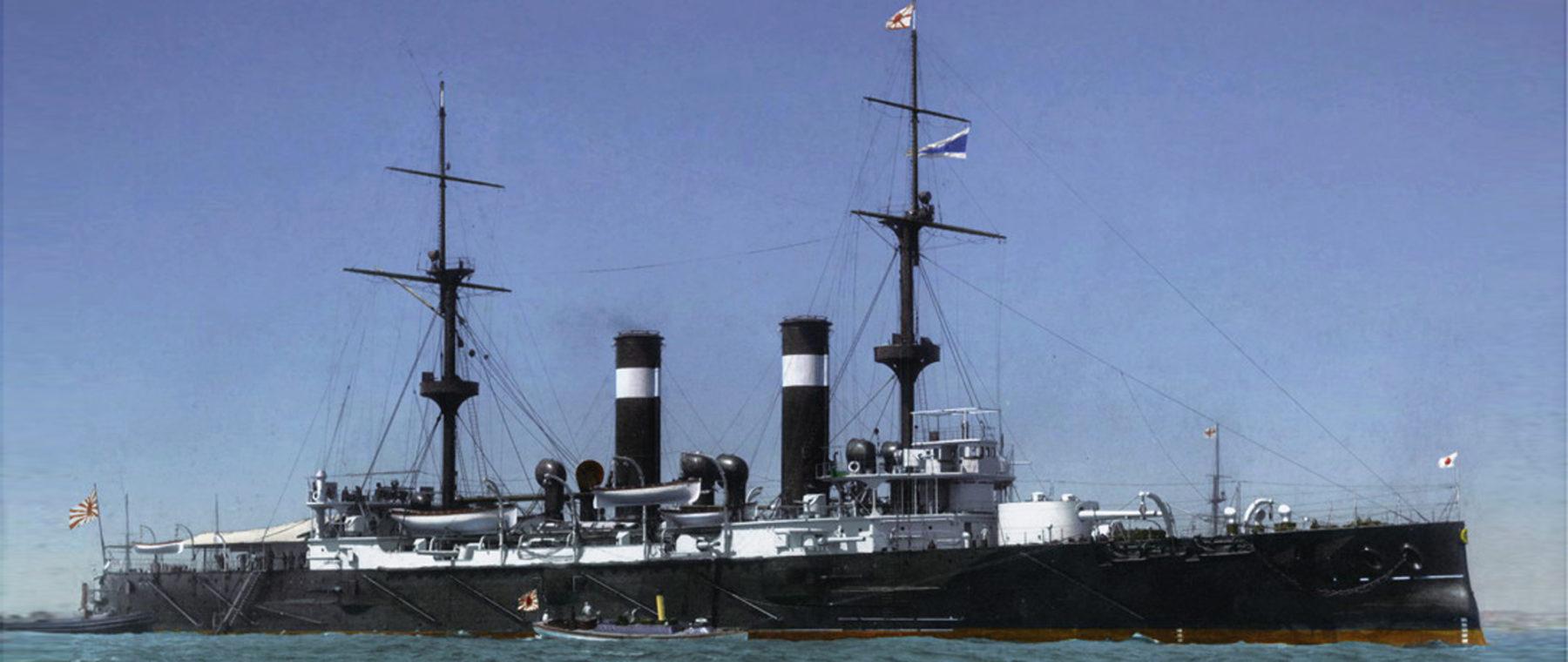 Asama in 1902