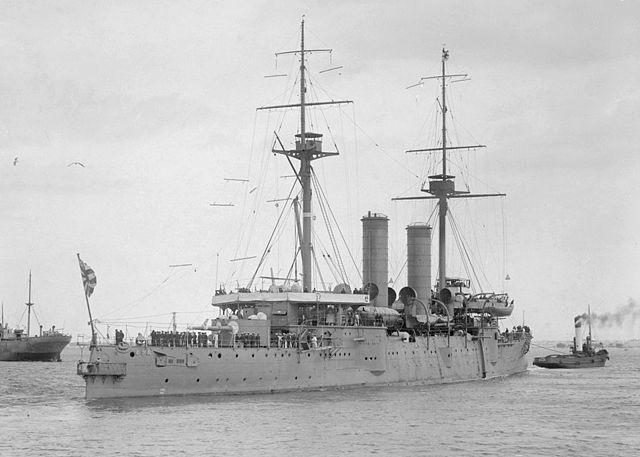 Asama towed off port in Australia circa 1923