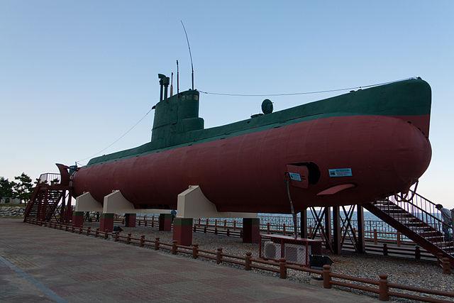 Gangneung - Sang-O submarines