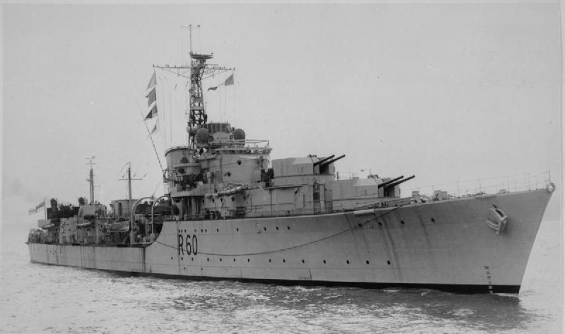 HMS Sluys - Battle class DD