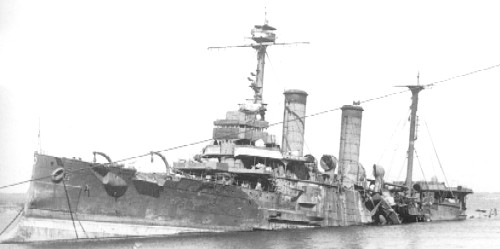 Tokiwa sunk August 1945