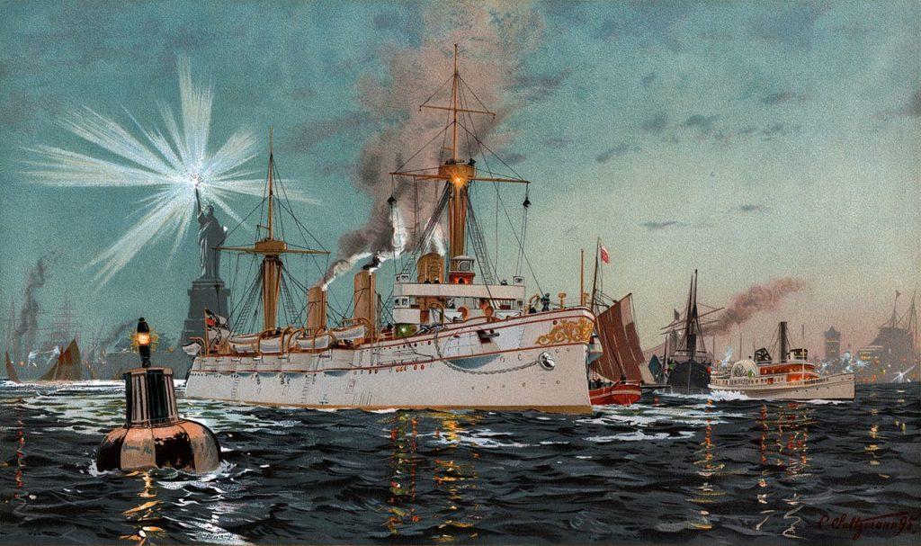 Kaiserin Augusta in New York