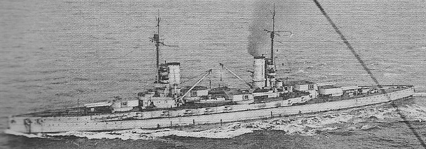 Kaiser en route to scapa flow