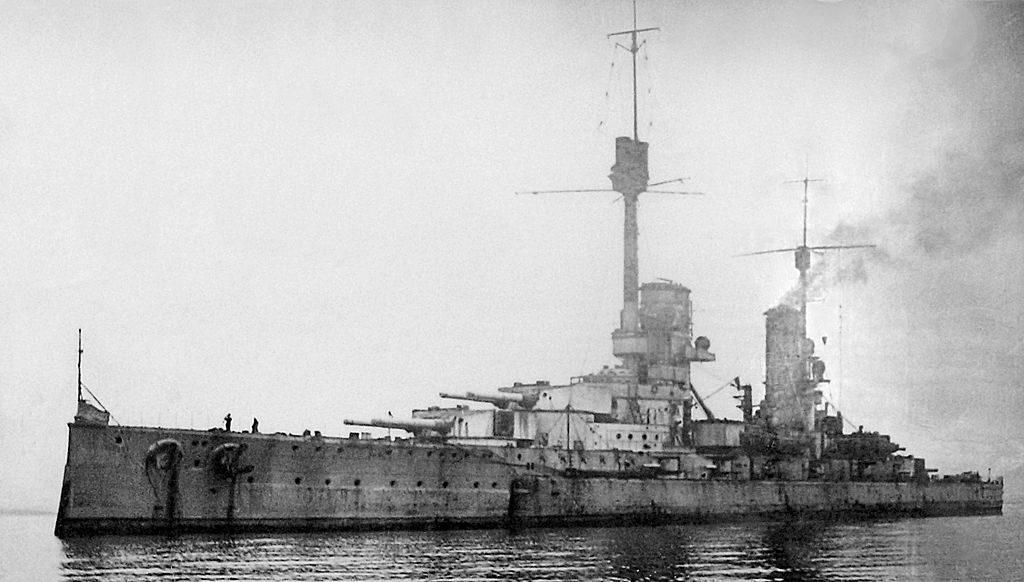 Kronprinz Wilhelm in scapa flow 1919