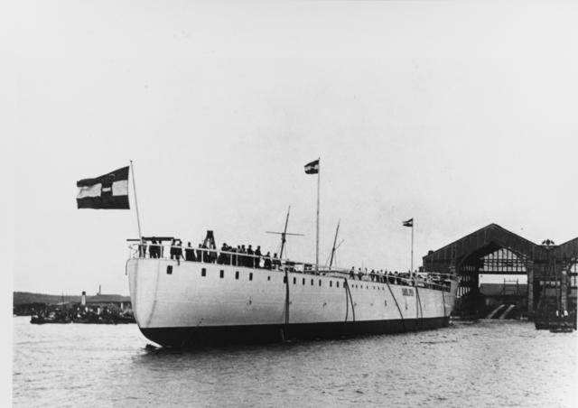Launch of Admiral Spaun