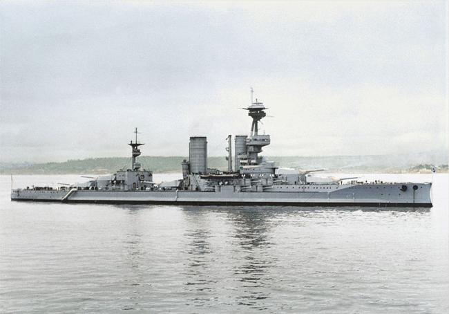 AlmiranteLatorre in ww2