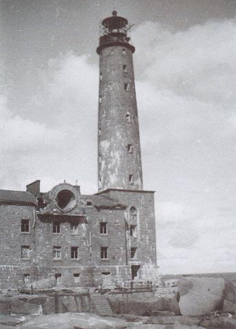 Bengtskärin lighthouse 1941
