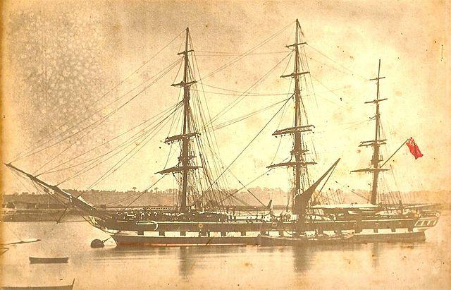 Blackwall Frigate SS Clyde 1860