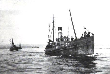 British drifters at Otranto