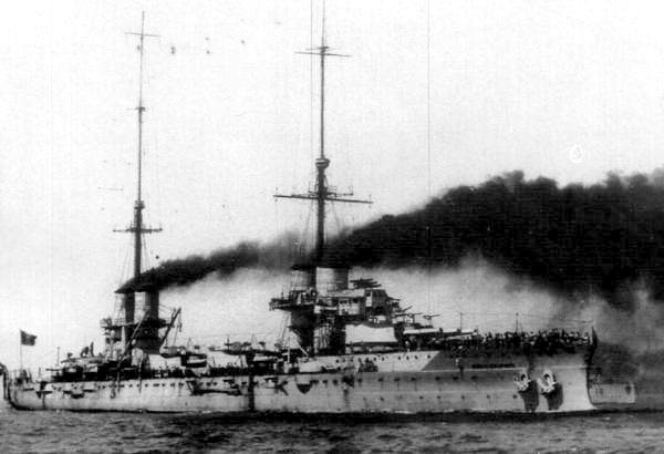 Dante Alighieri at full speed during sea trials