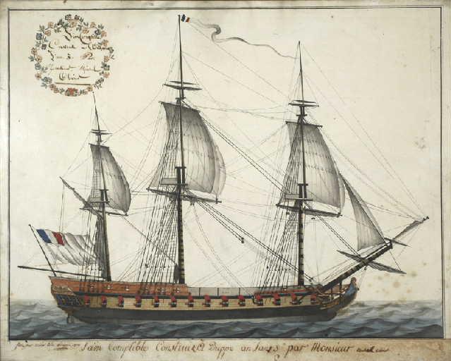Frigate Lincorruptible 1795