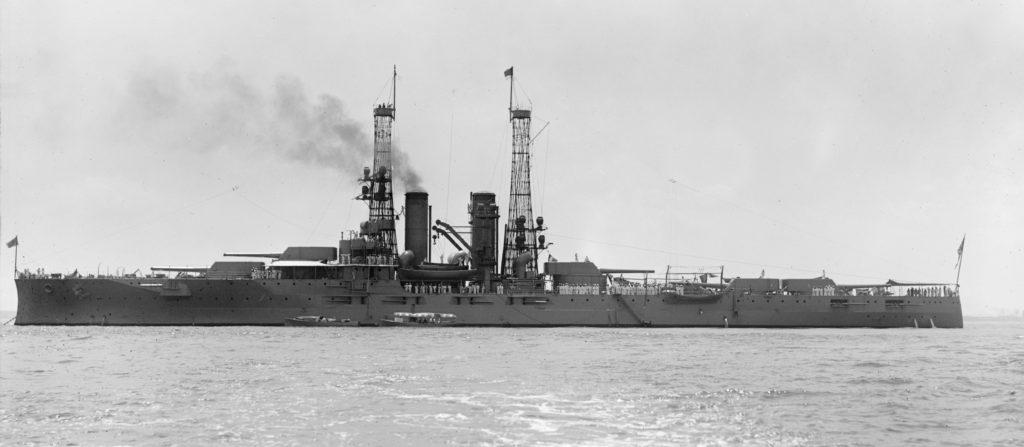USS Florida class in 1912. HD Photo at Shipbucket