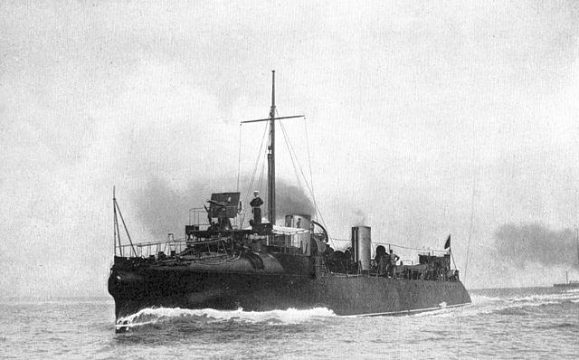 HMS Daring, 1893