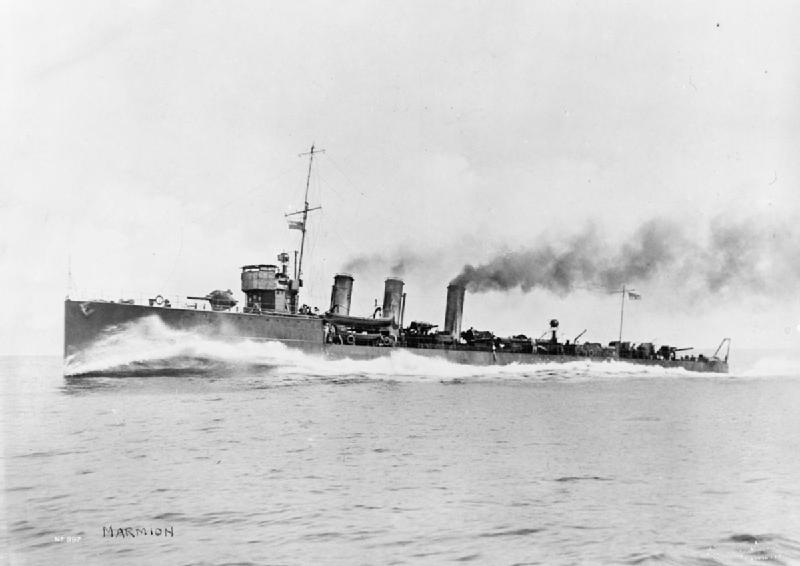 HMS Marmion in 1915