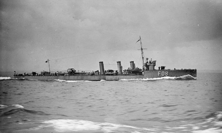 HMS Oracle in 1915