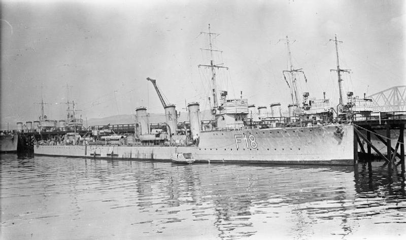HMS Paladin 1916