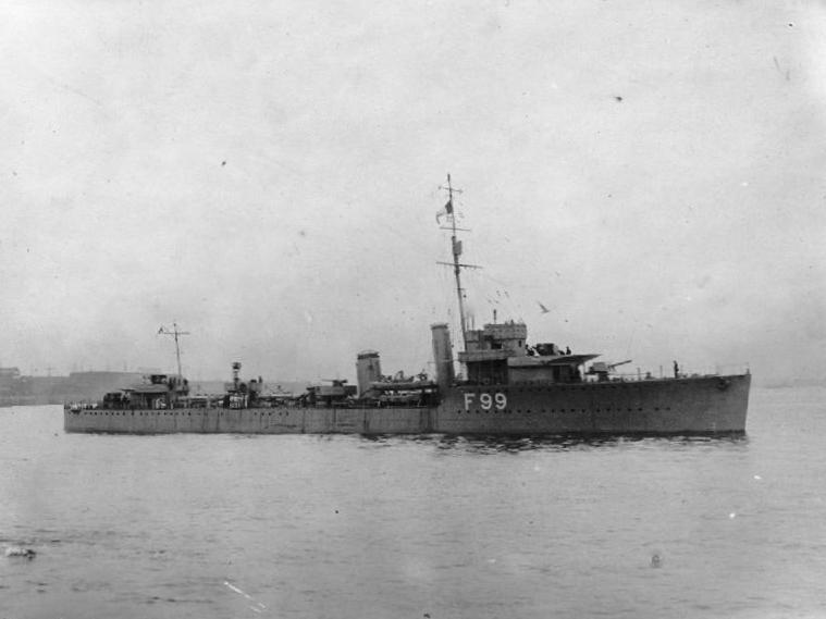 HMS Valentine