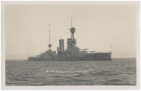 latorre battleship of chile