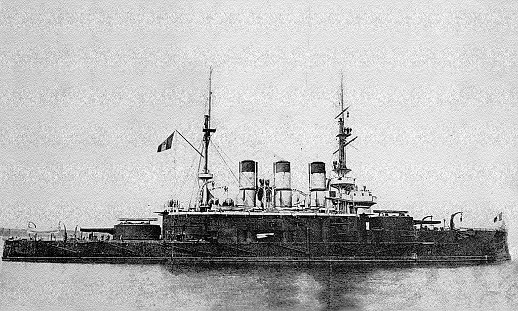 Knyaz Potemkin-Tavricheskiy in 1905 at Constanta