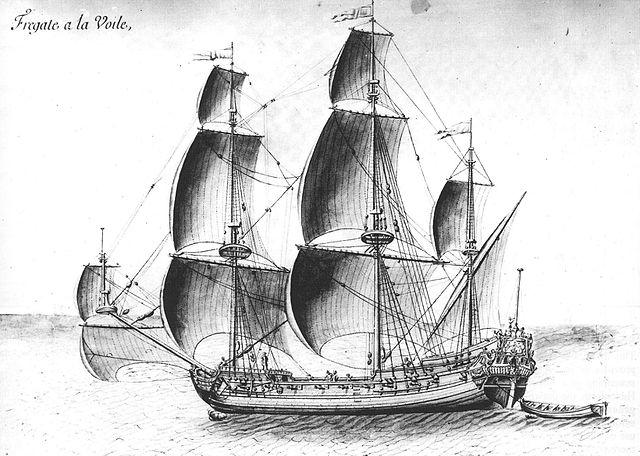 light Dutch Frigate 1670