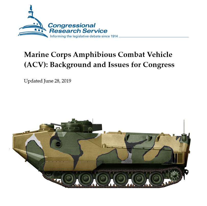 USMC Amphibious Vehicles