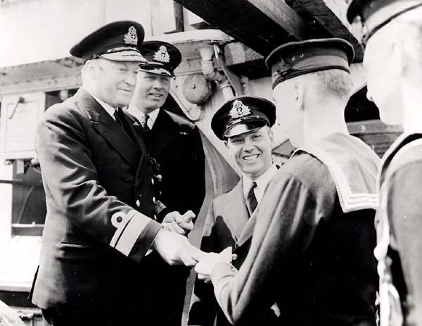 Admiral L.W. Murry, Newfoundland Command