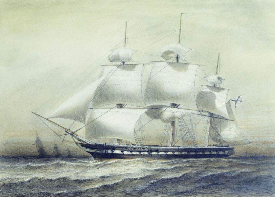 Russian Frigate Pallada