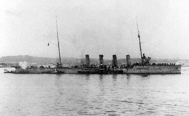 SMS Helgoland after the war