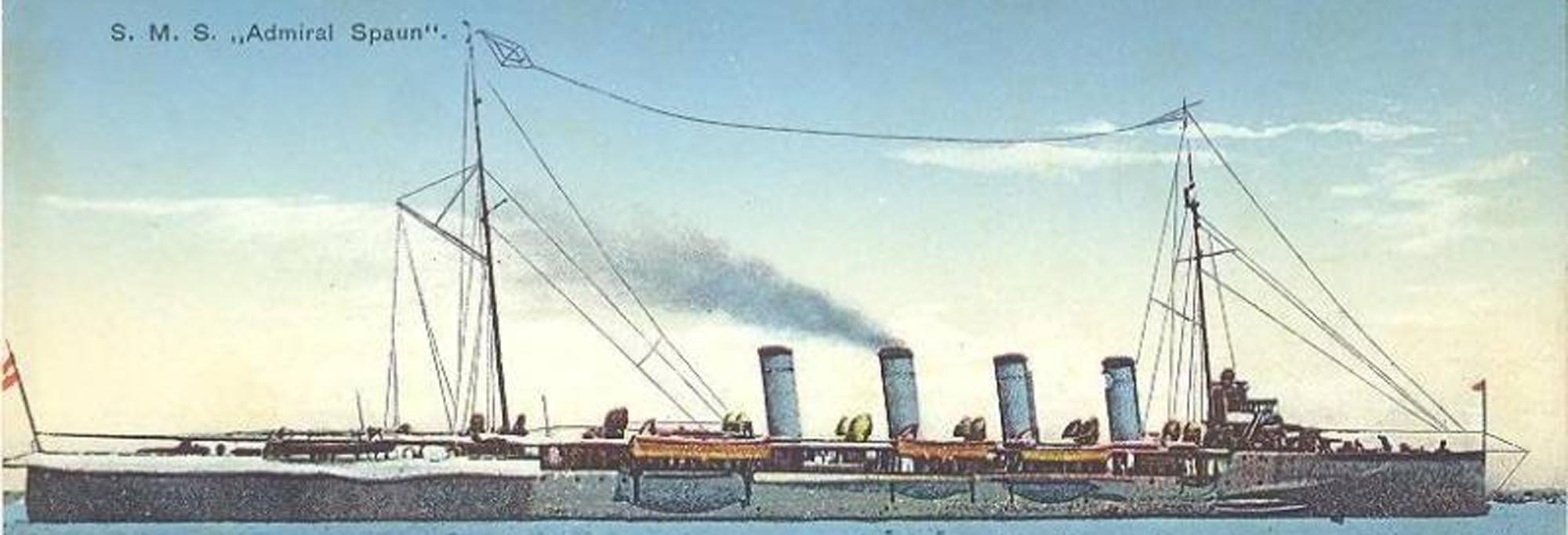 Admiral Spaun & Novara class cruisers