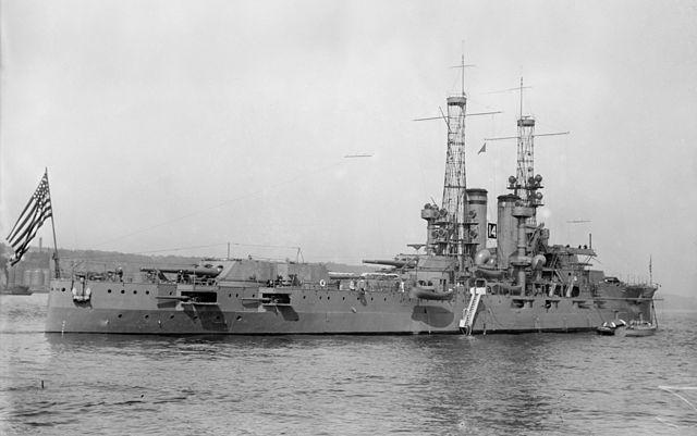 USS Utah, rear view
